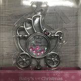 13609 Baby Buggy Ornament