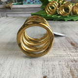 Gia Gold Napkin Ring