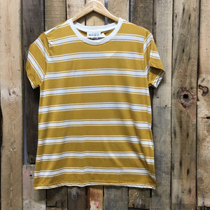 For The Republic Gold Strip T-Shirt