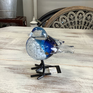 13811 Chirp Bird Glass