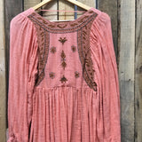 Free People Melon Tunic Top
