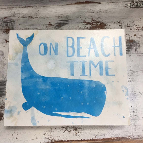 A Whale of a Beach Time