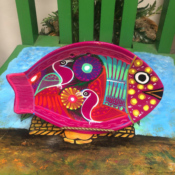 Fish Plate-Small Clay