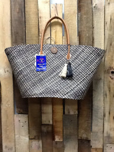 Handcrafted Straw Tote Bag
