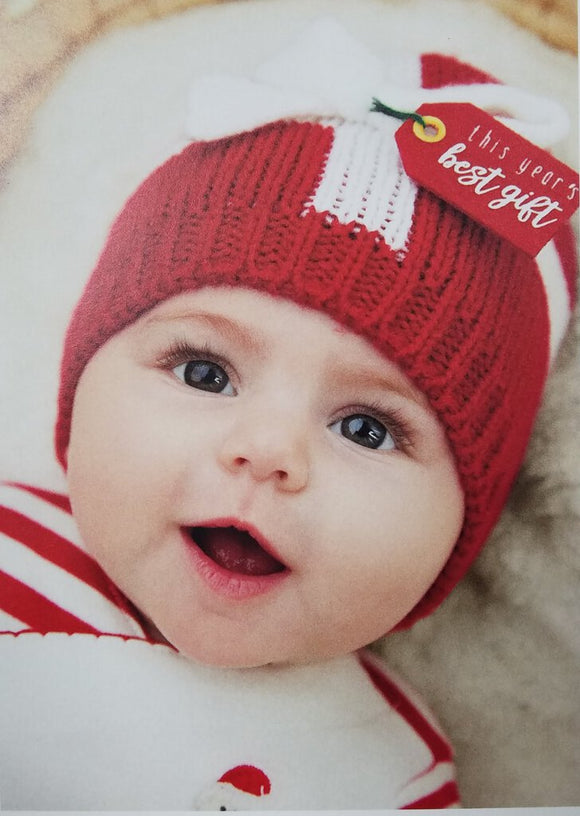 Best Gift Knit Hat (0-6Mos)