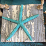Starfish on Driftwood Ornament