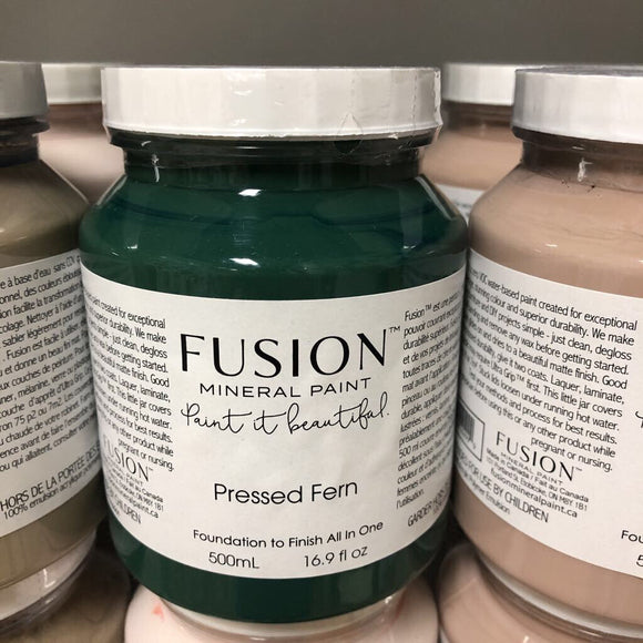 Fusion Mineral Paint Pressed Fern Pint