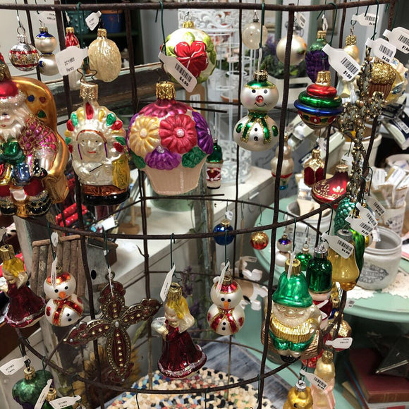 Fancy Vintage/Glass Ornaments