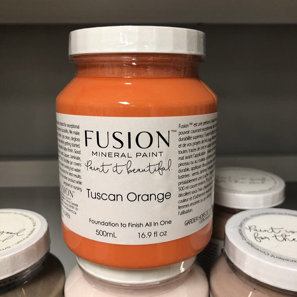 Fusion Mineral Paint Tuscan Orange Pint