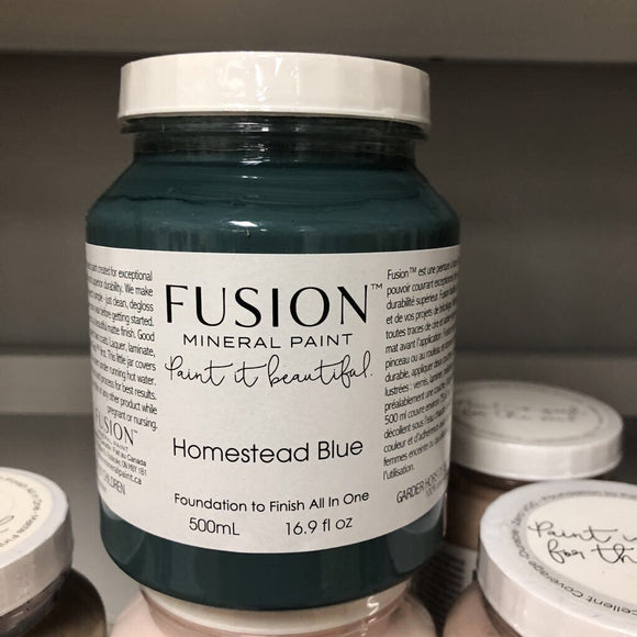 Fusion Mineral Paint Homestead Blue Pint