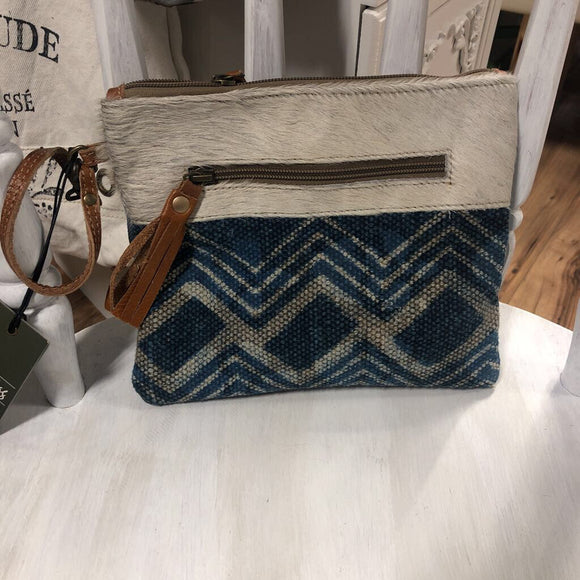 Myra Bag Teal Pouch