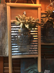 Rustic Wash Board Sconce