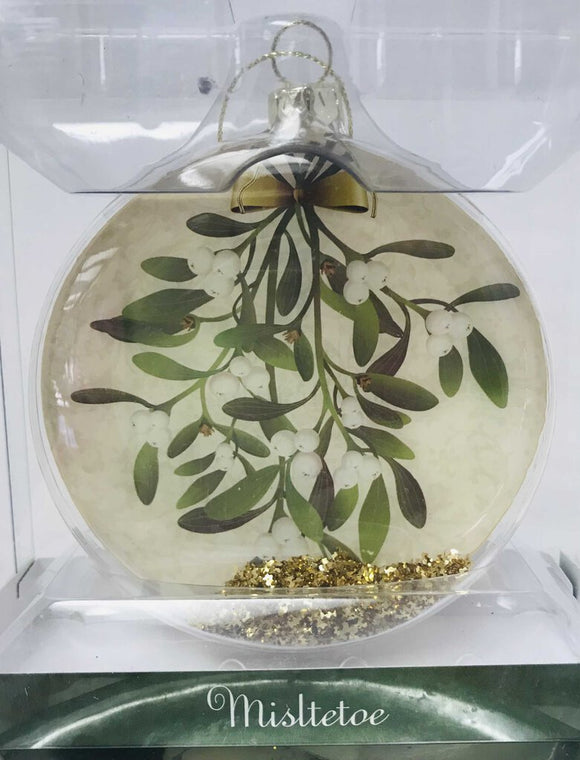 13771 Mistletoe Ornament-Boxed
