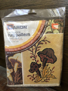 Vintage Latch Hook rug Pattern 20x27 Yarn not included