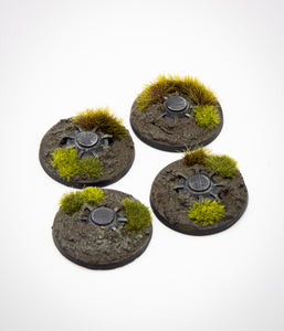 Legion Mine Tokens: Wetlands Terrain -  (set of 4)