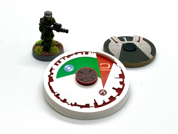 Star Wars Legion Death Star Countdown Turn Counter