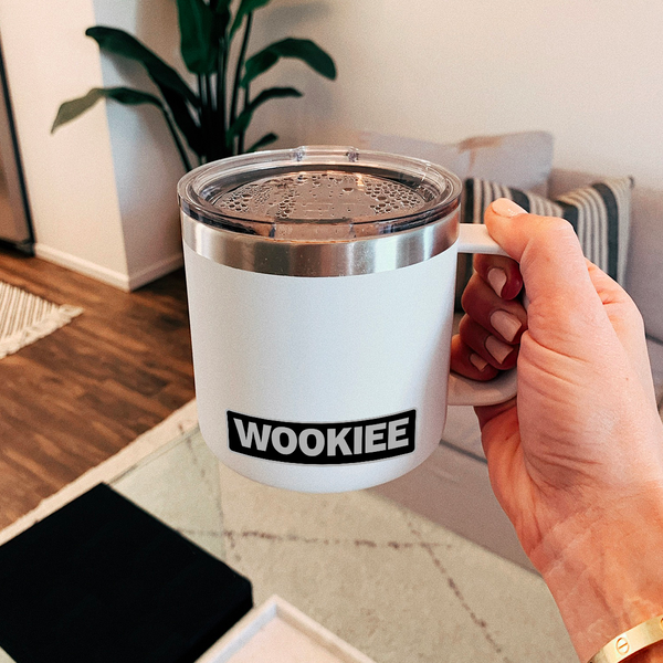 WOOKIEE Travel Mug Sticker