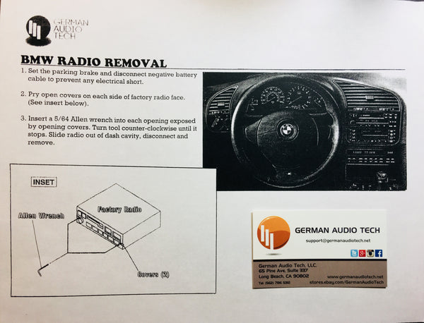 BMW Radio Installation Guide - German Audio Tech