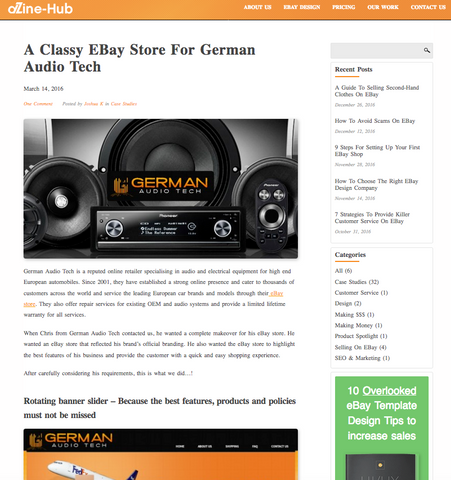 GermanAudioTech DZINE Article