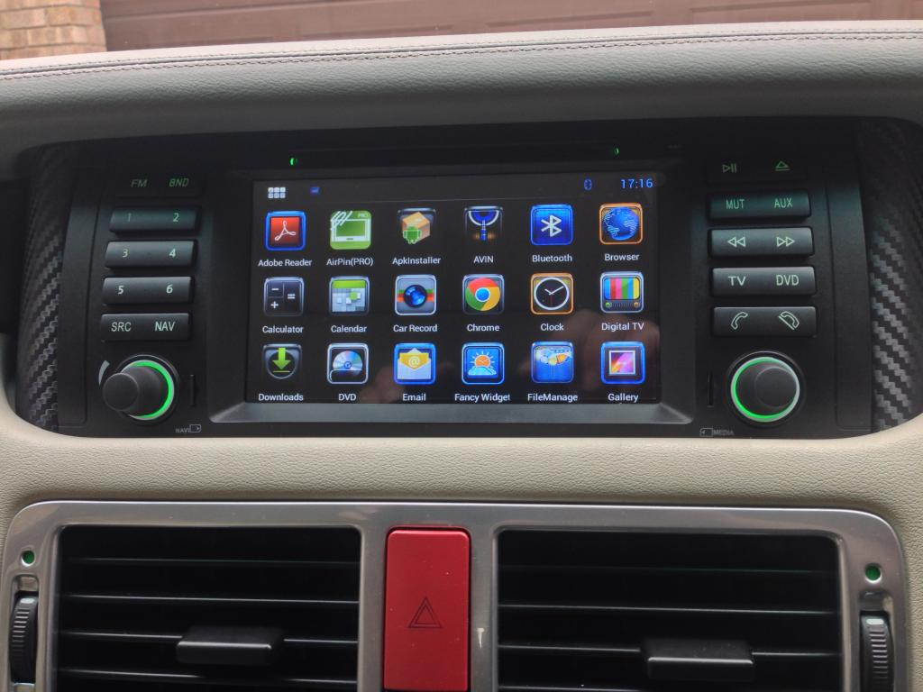 Android Upgrade For Range Rover L322 2003 2004 Touch
