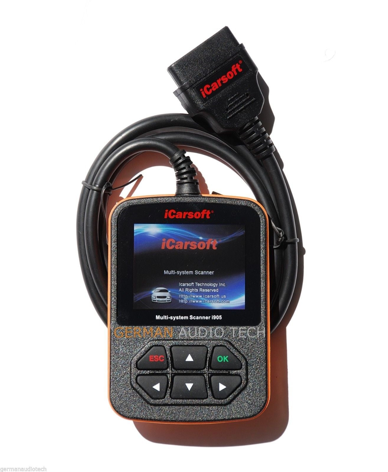 iCARSOFT i905 for TOYOTA SCION DIAGNOSTIC SCANNER TOOL RESET ERASE
