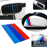 Motorsport Vinyl Stripe for BMW /// Performance Race Car Body Exterior Grill Fender Hood Decal Sticker Emblem