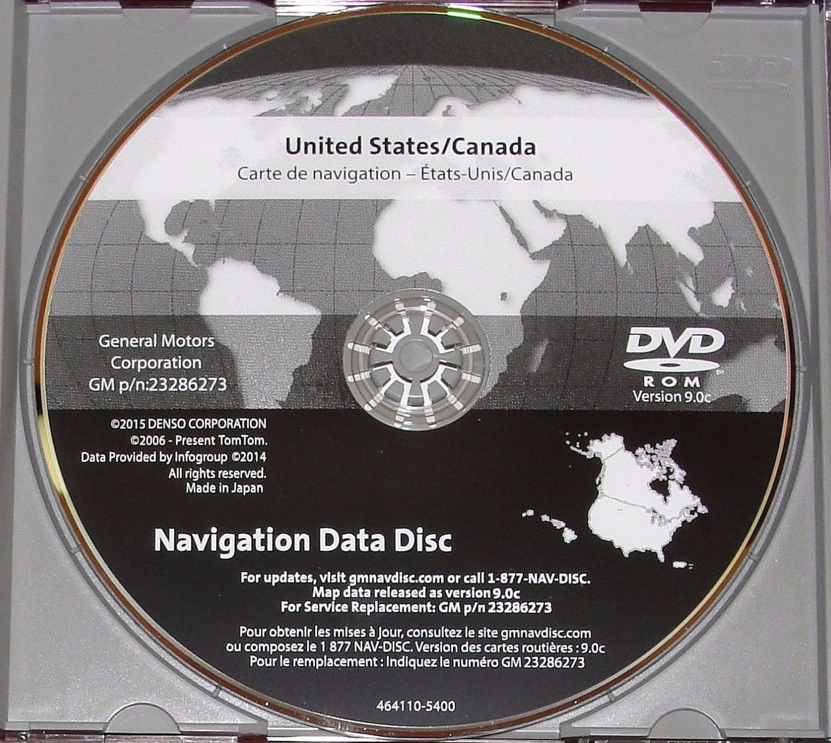 Newest Version 2016 Maps For 2007 2008 2009 2010 2011 GM