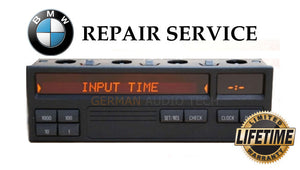 PIXEL REPAIR SERVICE for BMW E36 8 BUTTON BORG ON BOARD COMPUTER (OBC)