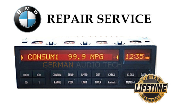 PIXEL REPAIR SERVICE for BMW E36 3-Series SIEMENS 18 BUTTON ON BOARD COMPUTER (OBC)