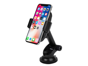 Wireless Phone Charger Car Dash Mount Qi for iPhone 8 X Samsung S7 Edge