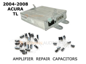 New Sound Output Repair Capacitors for ACURA TL OEM Amplifier 2004 2005 2006 2007 2008