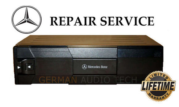 Repair Service for MERCEDES BENZ MC3196 MC3198 MC3010 ALPINE CD CHANGER PLAYER