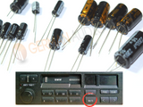 REPAIR CAPACITORS KIT for BMW CM5901 CM5903 CM5908 RADIO CASSETTE TAPE SOUND CHANNEL OUTPUT E30 E36 E32 E34 E32