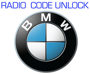 CODE RETRIEVAL UNLOCK SERVICE for BMW RADIO STEREO HEAD UNIT CD PLAYER