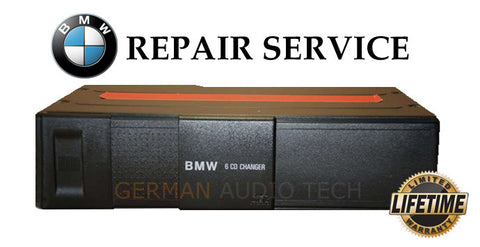 BMW E36 E39 Z3 ALPINE 6 DISC CD CHANGER PLAYER - REPAIR SERVICE