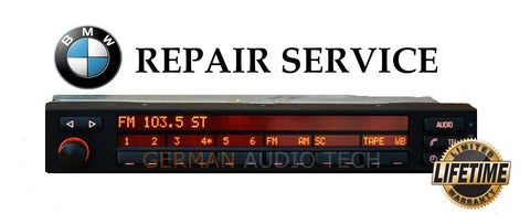 BMW 1995 - 2001 E38 7-SERIES RADIO STEREO TUNER DISPLAY MID - PIXEL REPAIR SERVICE