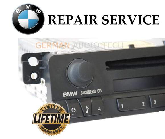 BMW E46 BUSINESS CD PLAYER RADIO STEREO - VOLUME CONTROL BUTTON REPAIR SERVICE