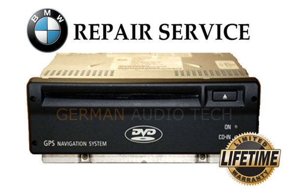 REPAIR SERVICE for 2002 - 2006 BMW E65 E66 MK4 DVD GPS NAVIGATION COMPUTER