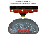 New OPTREX LCD for BMW Speedometer Cluster E38 E39 5-Series M5 E53 X5 Glass Ribbon