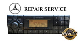 PIXEL REPAIR SERVICE for MERCEDES-BENZ  BECKER BE3302 BE3309 BE6003 RADIO STEREO