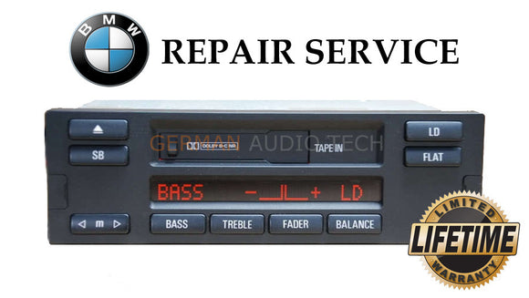 REPAIR SERVICE FIX - BMW ALPINE C23 MID US RADIO STEREO CASSETTE E38 740i 750iL