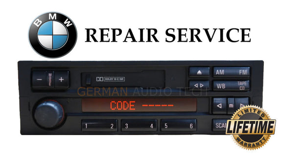REPAIR SERVICE for BMW E36 3-Series M3 ALPINE C33 C43 RADIO STEREO CASSETTE