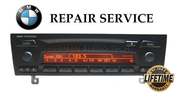 PIXEL DISPLAY REPAIR SERVICE for BMW CD73 PROFESSIONAL RADIO CD PLAYER E90 E91 E92 E93 328 330 335 M3