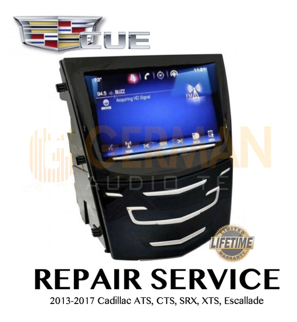 REPAIR SERVICE for Cadillac Cue ATS CTS SRX XTS Escalade 2013 2014 2015 2016 2017