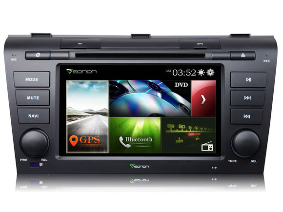 MAZDA 3 (2004-2009) 7″ DIGITAL TOUCH SCREEN ANDROID IOS MULTIMEDIA CAR DVD GPS