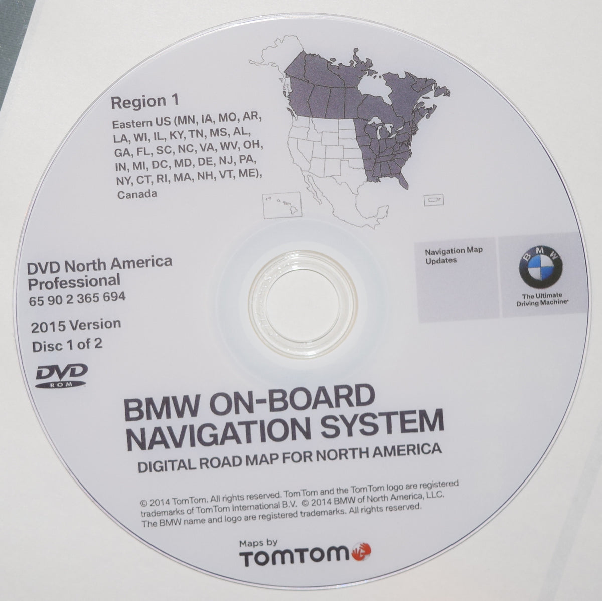 Latest PROFESIONAL NAVIGATION UPDATE For BMW CIC CCC WEST
