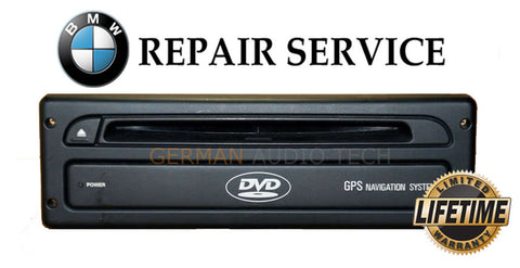 BMW MINI COOPER LAND ROVER MK4 DVD NAVIGATION SYSTEM COMPUTER - REPAIR SERVICE