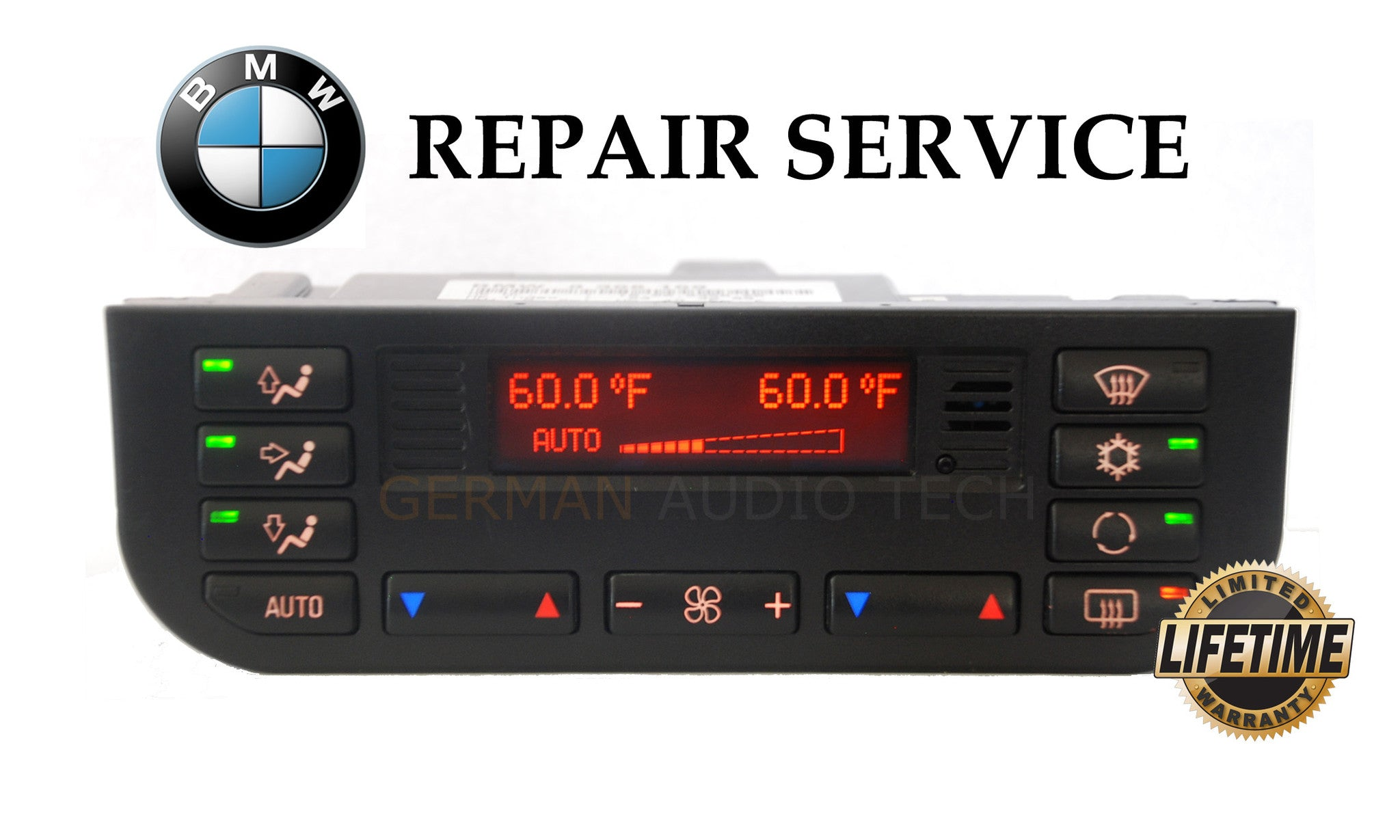 REPAIR SERVICE for BMW 1996 1997 1998 1999 E36 3-Series CLIMATE CONTROL AC  HEATER