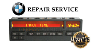 PIXEL REPAIR SERVICE for BMW E36 3-Series M3 11 BUTTON ON BOARD COMPUTER OBC