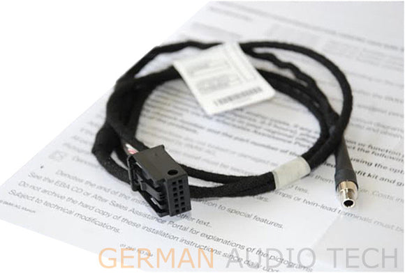 BMW E39 E53 5-Series X5 CD Player Radio MP3 AUX Auxiliary Input Adapter Cable Kit